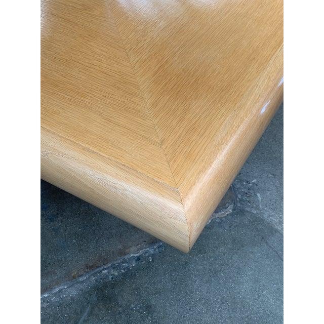 Steve Chase Arthur Elrod Custom Dining Table For Sale - Image 11 of 12