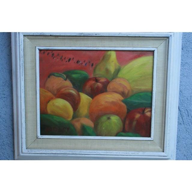 """Acrylic Fruit Painting - 20"""" x 17"""" - Image 3 of 7"""