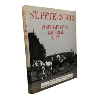 """St. Petersburg - Portrait of an Imperial City"" 1990 Book For Sale"
