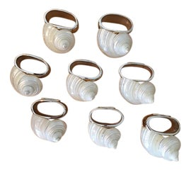 Image of Shell Napkin Rings
