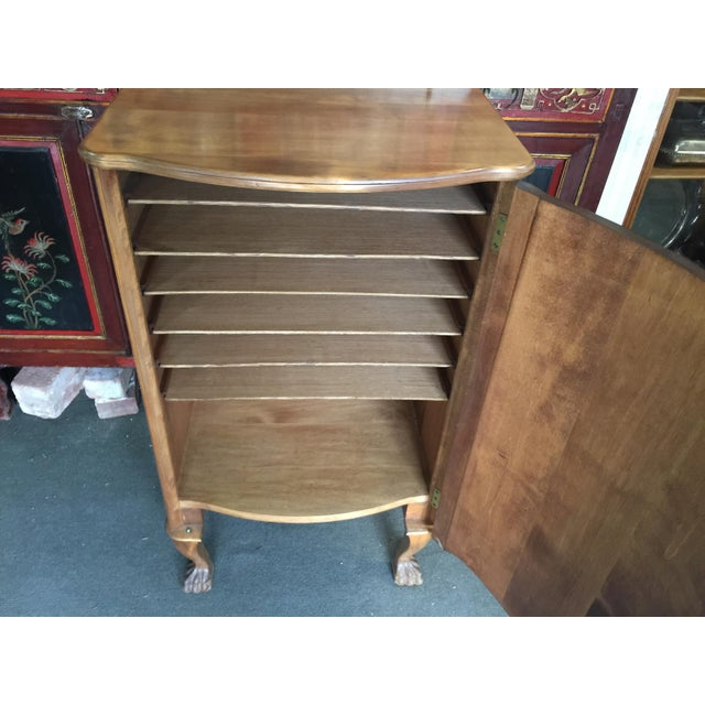 Antique Sheet Music Cabinet For Sale - Image 4 of 10