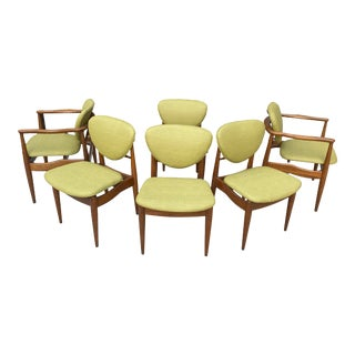1960s John Stuart Mid-Century Dining Chairs - Set of 6 For Sale