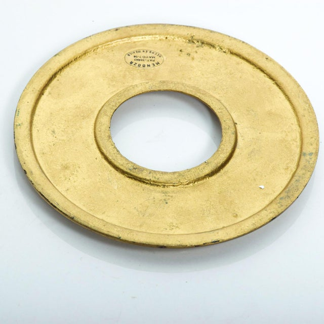 Green Mid Century Modern Door Ring Pulls by Pepe Mendoza Mexican Modernist For Sale - Image 8 of 9