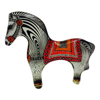 Vintage Abraham Palatnik Lucite Horse, 1970s