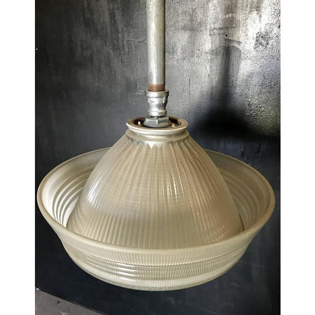 Industrial Pendant Lighting, 1940s For Sale In Los Angeles - Image 6 of 7