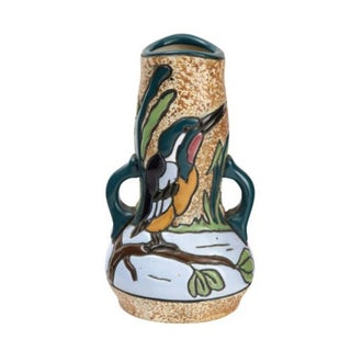 Austrian Amphora Marlin Vase For Sale