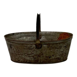 Late 19th Century XIX Century French Vineyard Basket For Sale