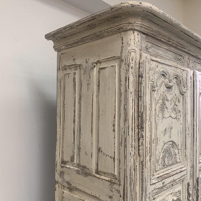 Early 19th Century Early 19th Century Antique French Armoire For Sale - Image 5 of 11