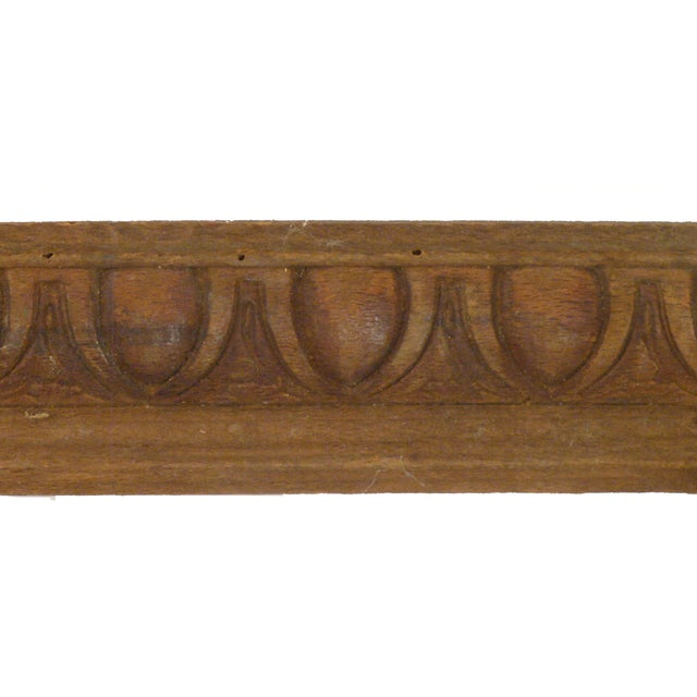 French Egg & Dart Architectural Elements - A Pair - Image 3 of 3