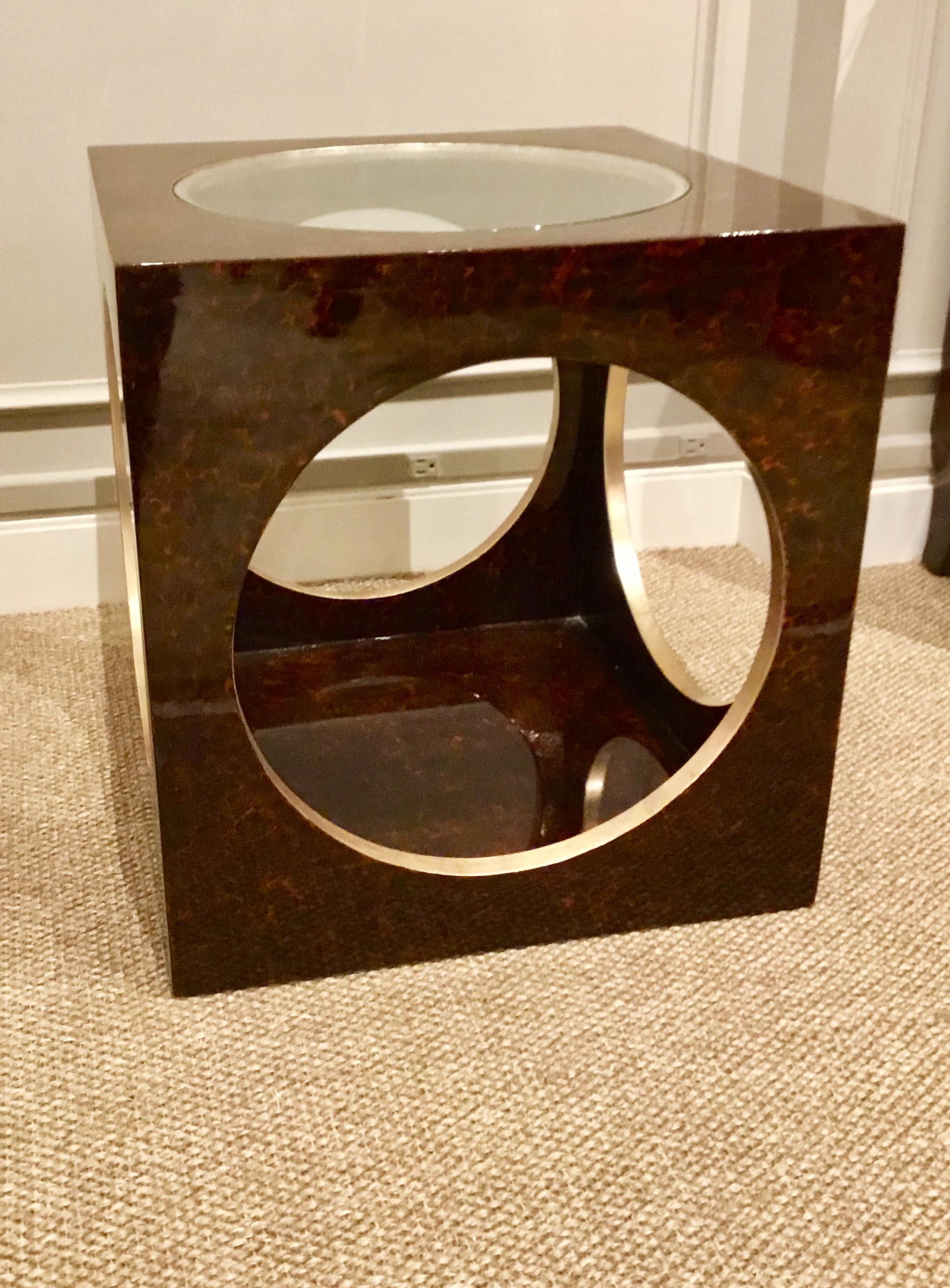 Roulette Side Table Chairish