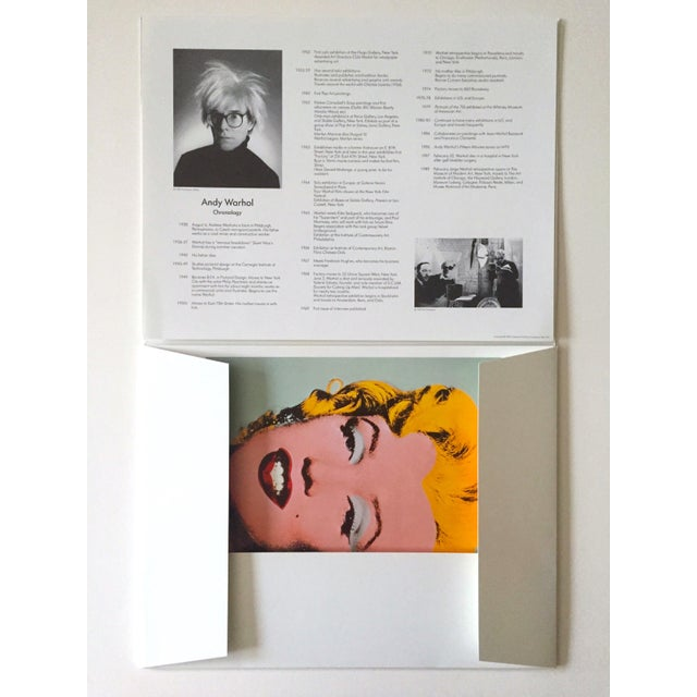 "Americana Andy Warhol Estate Rare Vintage 1989 "" Familiar Faces "" Portfolio Collector's Pop Art Lithograph Prints - Set of 6 For Sale - Image 3 of 13"