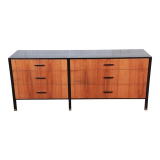 Harvey Probber Mid-Century Modern Rosewood and Ebonized Wood Dresser For Sale