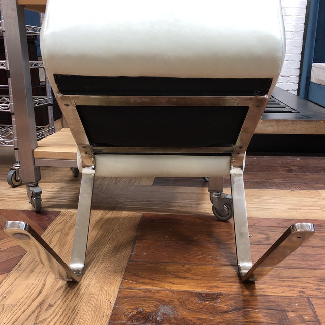 1970s Mid-20th Century Frank Mariani Pace Collection Laguna Cantilever Chair For Sale - Image 5 of 11