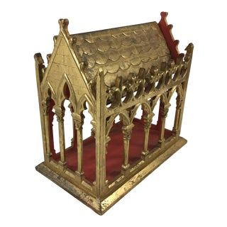 19th Century Gilded Display For Sale