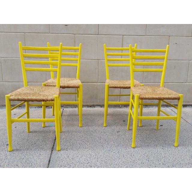 Mid-Century Gio Ponti Style Chairs - Set of 4 - Image 2 of 11