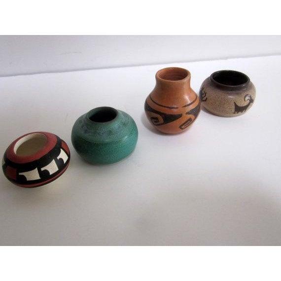 Vintage Mid Century Studio Pottery Pots - Set of 4 - Image 2 of 6
