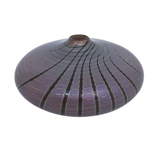 Zweifel Glass Art Vase For Sale