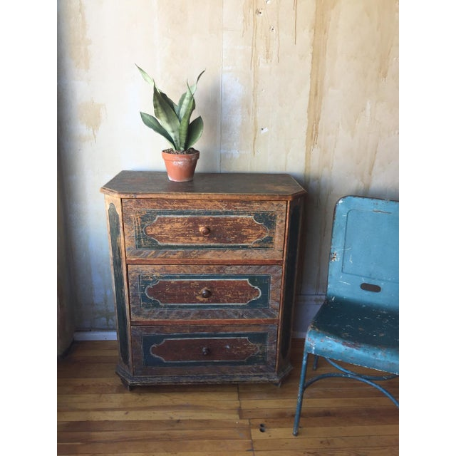 Small Arte Povera Chest of Drawers For Sale - Image 4 of 11