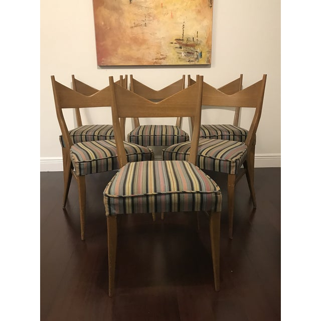 Mid-Century Modern Paul McCobb Mid Century Modern Dining Chairs - Set of 6 For Sale - Image 3 of 6