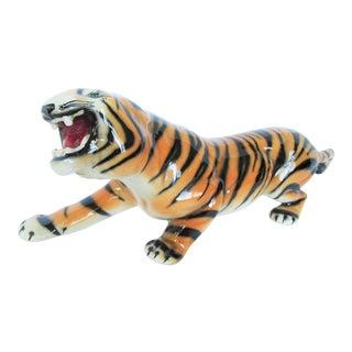 Italian Bengal Tiger Figurine For Sale
