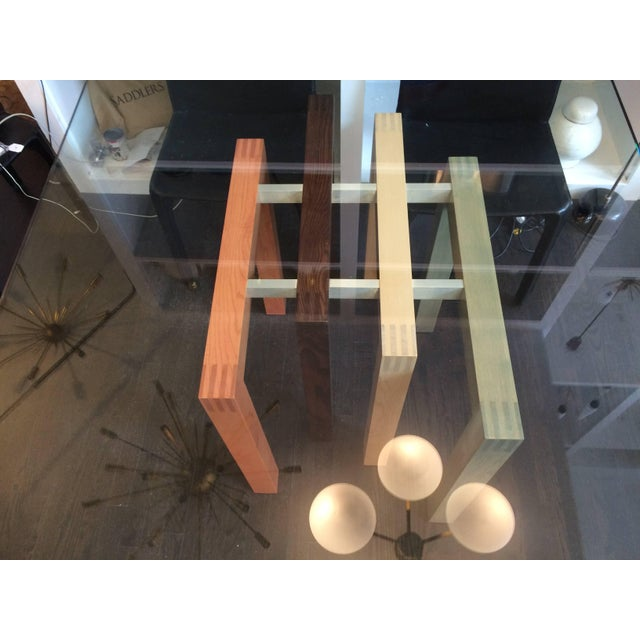 1980s 1980s Saporiti Dining Table Base with Glass Top For Sale - Image 5 of 6