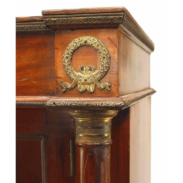 Empire Pair of French Empire Style '19th Century' Bookcases For Sale - Image 3 of 4