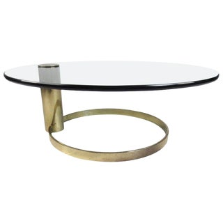 1970s Mid-Century Modern Leon Rosen Pace Collection Coffee Table For Sale