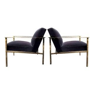 Contemporary Cue Carbon Chair by Mermelada Estudio for Cb2 - a Pair For Sale