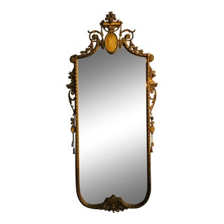 19th Century French Giltwood Mirror For Sale