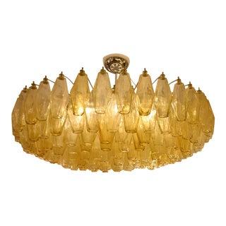 1950s Paolo Scarpa Poliedri Ceiling Light For Sale