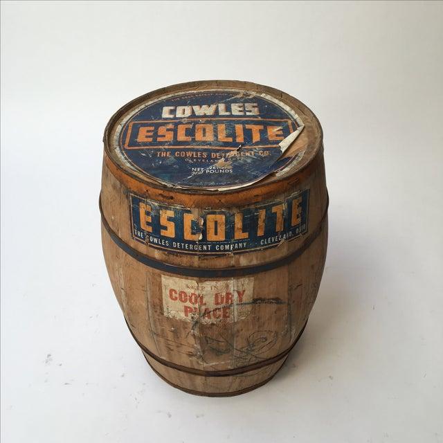 Antique Laundry Detergent Barrel - Image 3 of 9