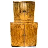 Image of Mid-Century Modern Hollywood Regency Liquer Cabinet, French, Circa 1930 For Sale