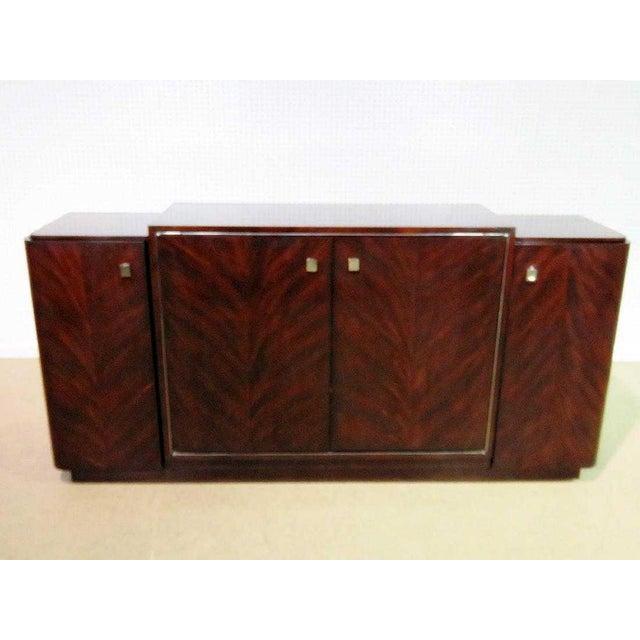 Art Deco Ralph Lauren Duke Mahogany Low Media Cabinet For Sale - Image 3 of 9