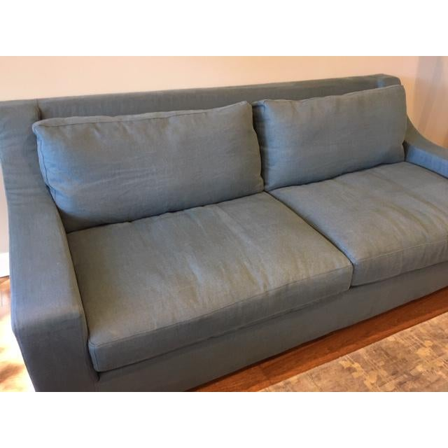 Pair of Mint condition Restoration Hardware Sofas Purchased June '18 - never used