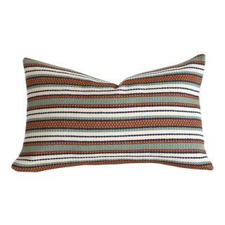 Woven Serape Stripe Pillow