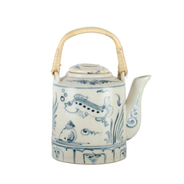 Japanese Lacquer Padded Teapot Caddy - Image 8 of 10