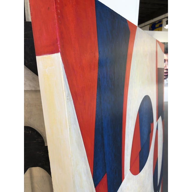 """Original Painting on Panel Titled: """"PDP598ct13"""""""" For Sale - Image 11 of 13"""