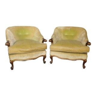 1940s Italian Armchairs - a Pair For Sale