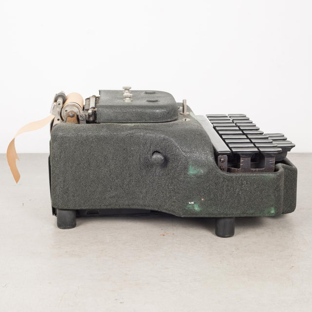 Early 20th Century Antique Stenograph With Original Case/Manual C.1933 For Sale - Image 5 of 10