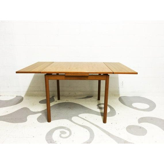 Mid-Century Modern Dining Table in Teak - Image 2 of 6