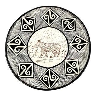 Linda Reeder-Sanchez Decorative Terracotta Charger Plate