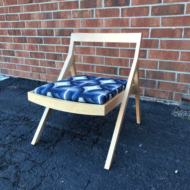 Mid-Century Modern Minimalist Modern Custom Side Chairs - a Pair For Sale - Image 3 of 9
