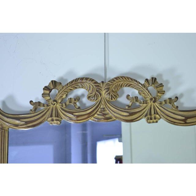Grosfeld House Vanity and Mirror, circa 1940s - Image 7 of 9