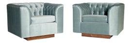 Image of Regency Club Chairs