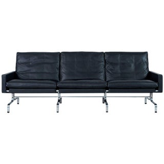 Poul Kjaerholm PK31 Three-Seat Sofa by Fritz Hansen For Sale