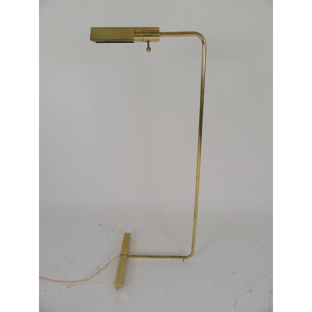 Metal Signed Cedric Hartman Lamp For Sale - Image 7 of 7