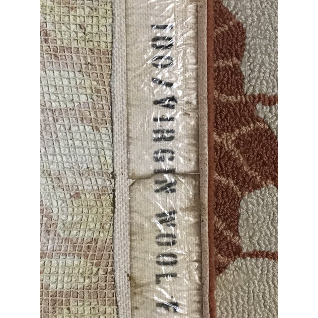 Custom Edward Fields Long Coral and Cream Runner- 5′6″ × 19′ For Sale In Houston - Image 6 of 9