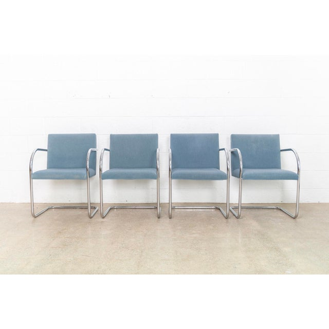 Mid-Century Modern Mies Van Der Rohe Brno Chairs For Sale - Image 3 of 11