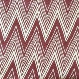 """Image of Brunschwig & Fils """"Grace"""" in Rojo Fabric For Sale"""