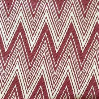 """Brunschwig & Fils """"Grace"""" in Rojo Fabric"""